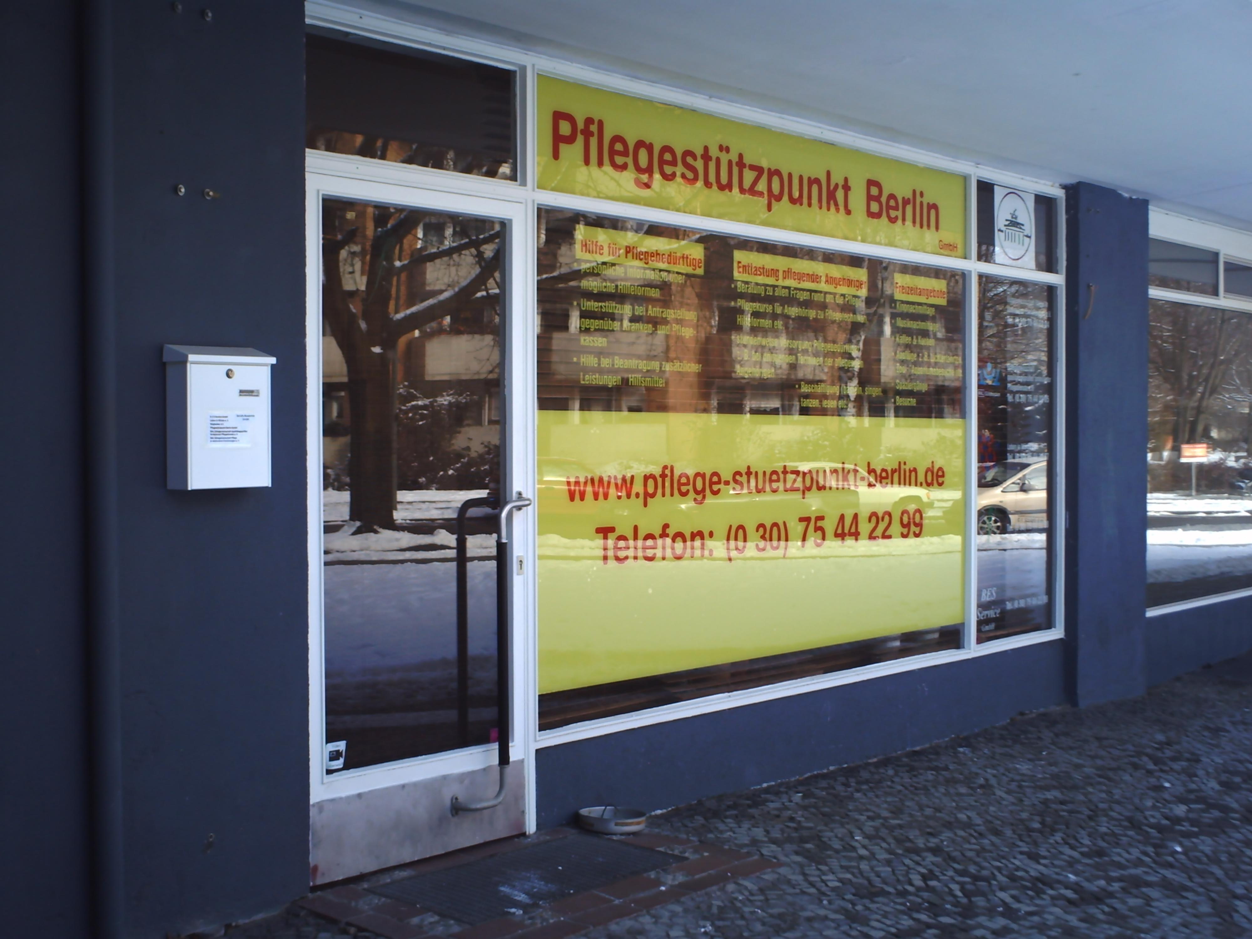 Pflegestützpunkt Berlin - Gescäftsstelle Wedding